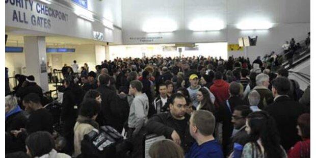 Flughafen wg. Sprengstoff-Alarm gesperrt