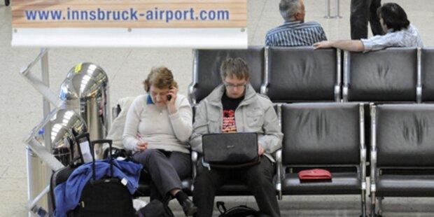 Dichter Nebel behindert Tiroler Flugverkehr