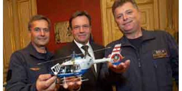 Acht neue Hubschrauber für die Flugpolizei
