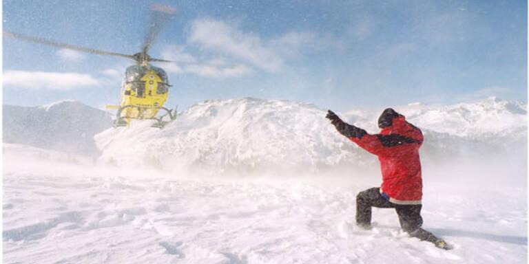 Snowboarder nach Sturz reanimiert