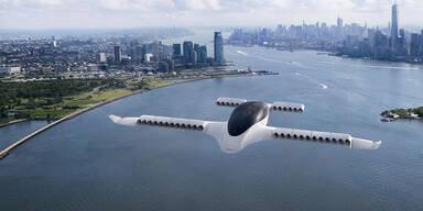 Neues E-Flugtaxi: 300 km/h schnell, 300 km Reichweite