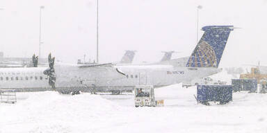 Harter Winter kostete Airlines Millionen