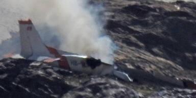 Zwei Tiroler bei Flugzeugabsturz in der Schweiz gestorben