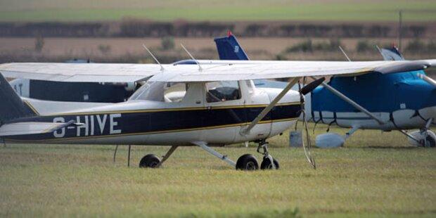 Passagier landete sicher Flugzeug