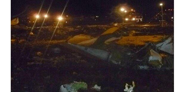 Flugzeug in Russland abgestürzt