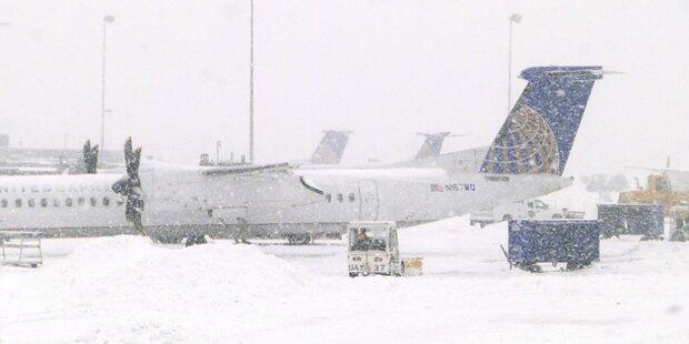 Washington lahmgelegt - Flüge gestrichen