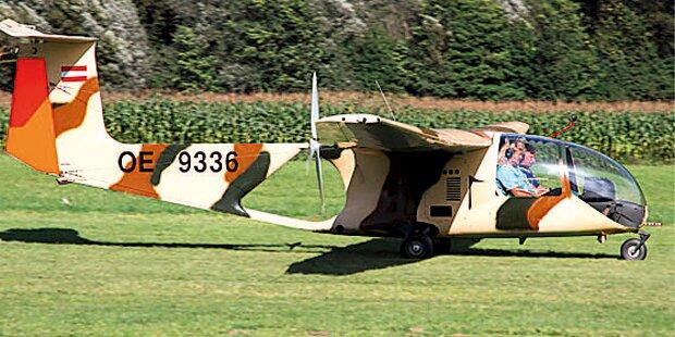 Patient flüchtet mit Flugzeug aus Klinik