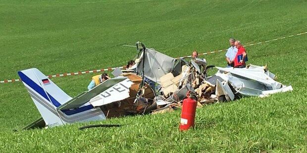 Zwei Österreicher sterben bei Flugzeugabsturz