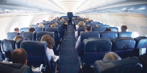 Betrunkener Wiener aus Flugzeug geworfen
