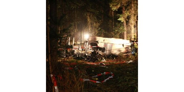 Rätsel um abgestürztes Flugzeug bei Graz