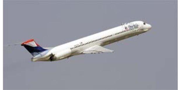 Panik bei Notlandung eines dänischen Flugzeuges