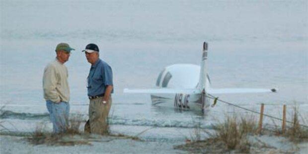 Notlandendes Flugzeug erschlägt Jogger