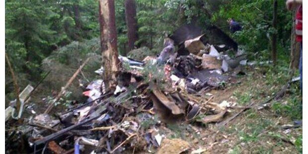 Zwei Tote bei Absturz von Kleinflugzeug