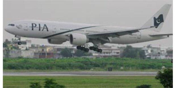 Terrordrohung gegen Pakistans Flughäfen