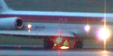 Flugzeug mit Triebwerksproblemen sicher gelandet