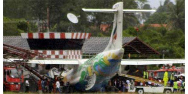 Flugzeugunglück in Thailand
