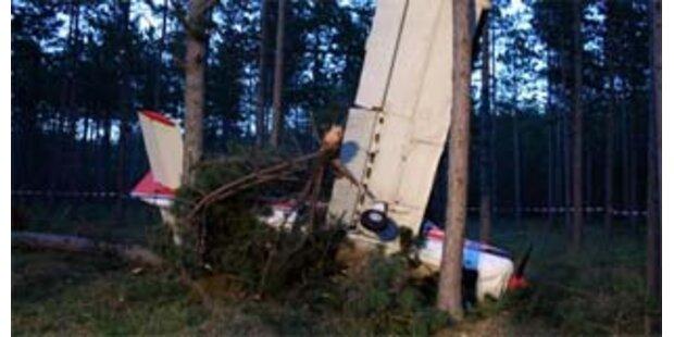 Kleinflugzeug in NÖ abgestürzt