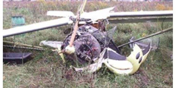 2 Verletzte bei Flugunfall in Wels