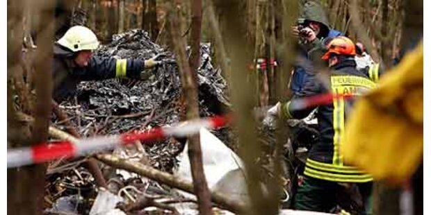 Flugzeug bei Frankfurt abgestürzt