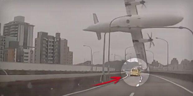 Taiwan-Absturz: Jetzt spricht Taxi-Fahrer