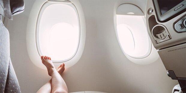 Darum müssen Flugzeugfenster rund sein