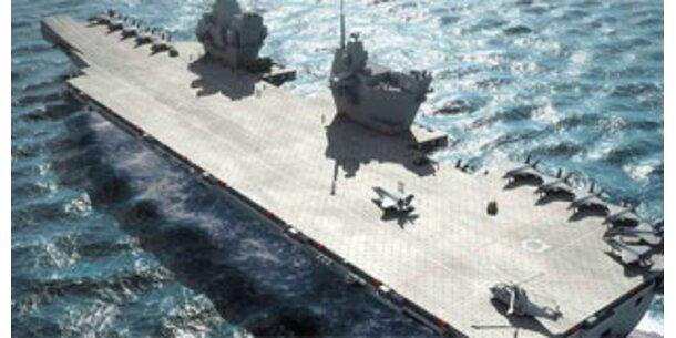 Briten bauen größten Flugzeugträger aller Zeiten