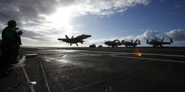USA senden Flugzeugträger nach Südkorea