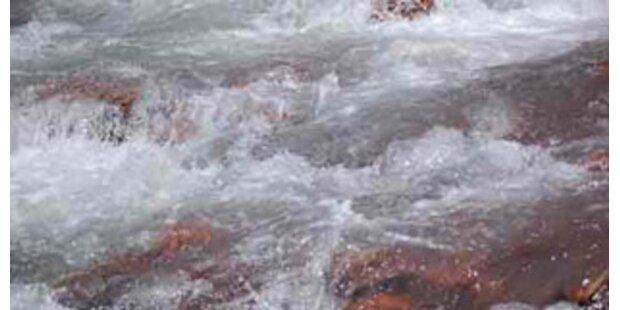 Polizisten stürzten bei Verfolgungsjagd in Fluss