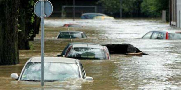 Europa ertrinkt in der Rekordflut