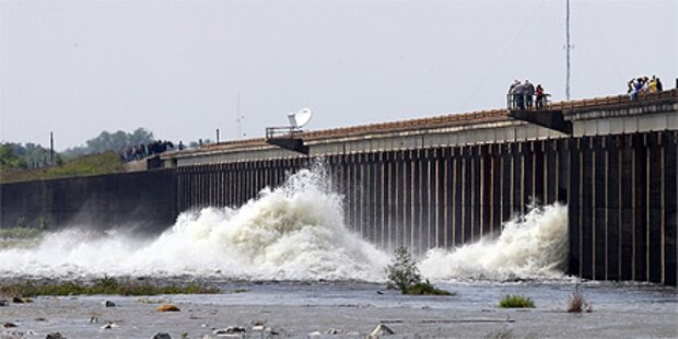 Mississippi-Flutung soll New Orleans retten