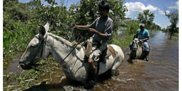 64 Tote bei Überschwemmungen in Bolivien und Peru