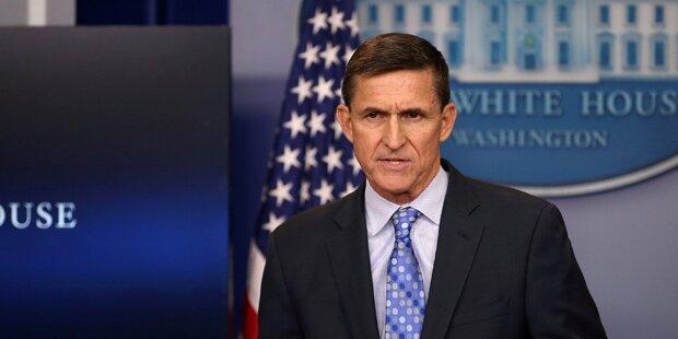 Trumps Sicherheitsberater Flynn tritt zurück