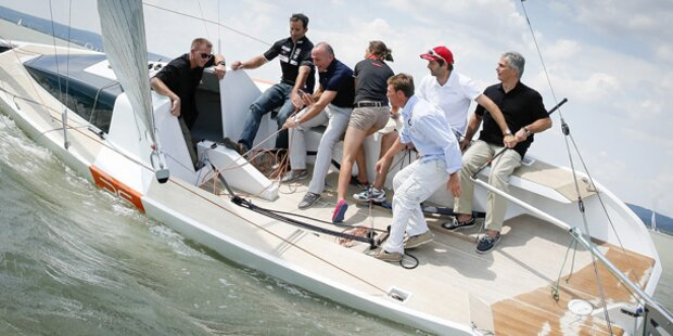 Faymann und Klug stechen in See
