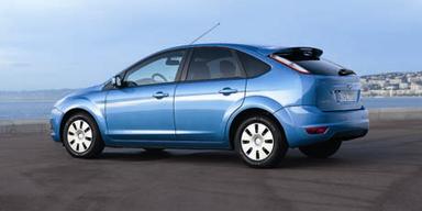 Klimaschutz. Der Ford Focus ECOnetic II stößt unter 100 g CO2 pro gefahrenem Kilometer aus. Bild: Ford
