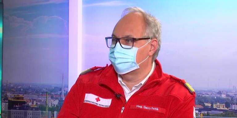 """Wegen Mutation: Rot Kreuz-Chef warnt vor """"Katastrophe im März"""""""