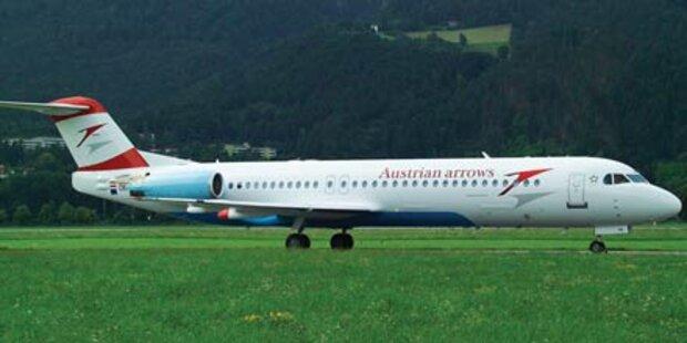 AUA-Maschine in Wien vor Start evakuiert