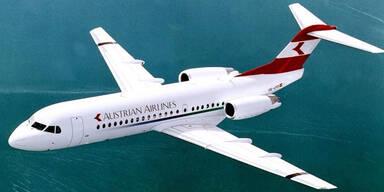 Wieder Fokker 70 der AUA defekt