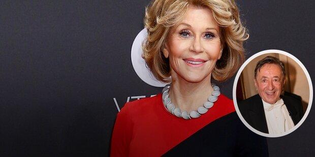 Lugner: Jane Fonda als Opernball-Gast