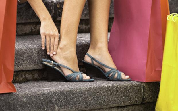 Fußoperationen boomen bei Frauen