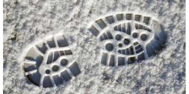 Computer vergleicht Schuhabdrücke