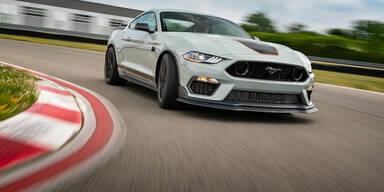 Ford greift mit dem Mustang Mach 1 an