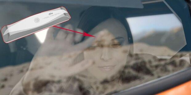 Geniales Autofenster für blinde Mitfahrer