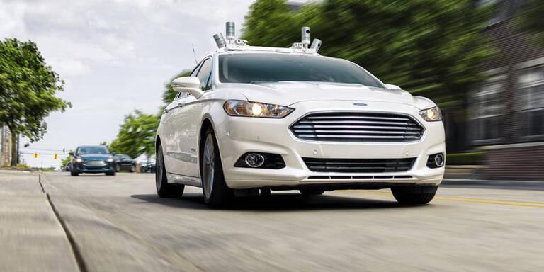 Ford verschiebt Start seiner Robo-Taxis