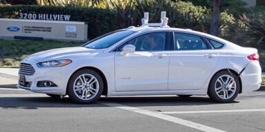 Ford darf autonome Autos testen