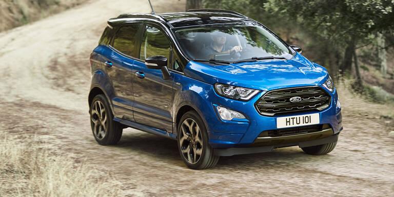Ford wertet den EcoSport ordentlich auf