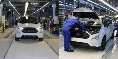 Ford baut den EcoSport auch in Europa