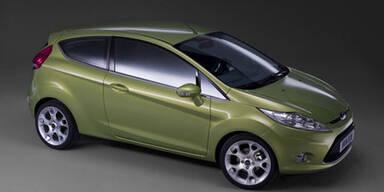 Neuer Ford Fiesta kommt im Herbst 2008