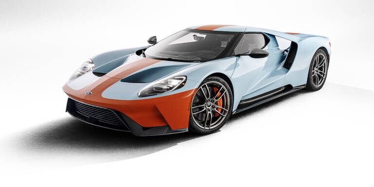 Ford GT erneut als coole Heritage-Edition