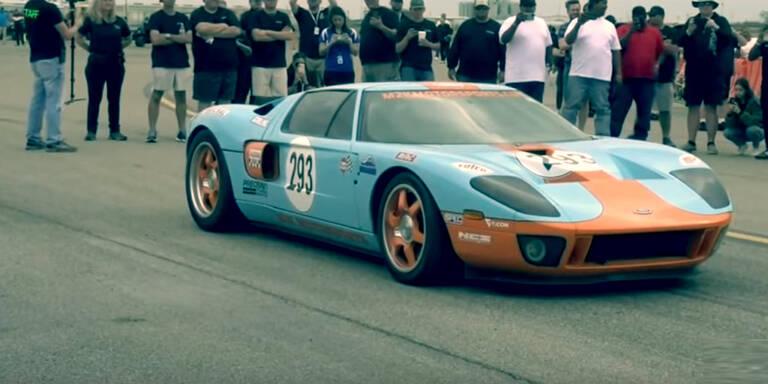 Ford GT knackte fast die 500-km/h-Marke