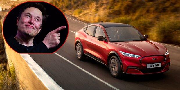 Tesla-Chef lobt neuen Elektro-Ford Mach-E